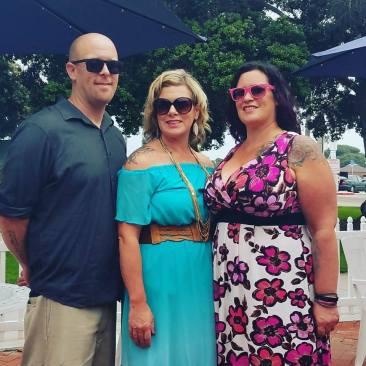 michelle, bub & I
